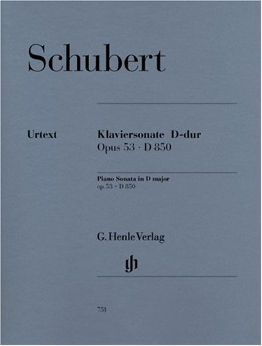 Preisvergleich Produktbild Sonate d-Dur Op 53 d 850. Klavier