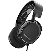 SteelSeries Arctis 3, Casque Gaming, Toute la plateforme, PC/Mac/PlayStation 4/Xbox One/Nintendo Switch/Android/iOS/VR - Noir