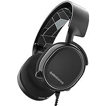 SteelSeries Arctis 3, Casque Gaming, 7.1 Surround pour PC, Logiciel de configuration, (PC / Mac / Playstation / Nintendo Switch / Mobile / VR) - Noir