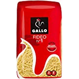 Pastas Gallo - Fideo 1 Paquete 500 g - [Pack de 9]