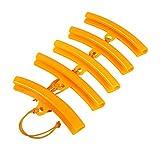 Qiilu 5x Auto Reifen Changer Schutz Felge Protector Reifen Rad Ändern Rand Savers Werkzeug(Orange)