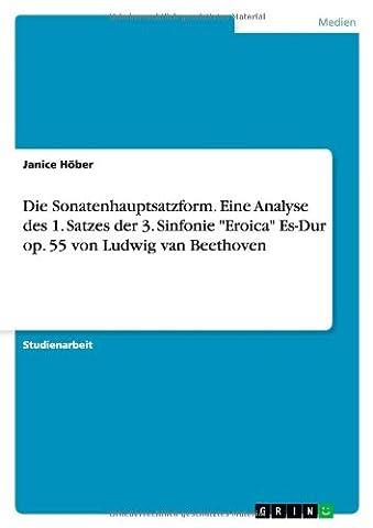Die Sonatenhauptsatzform. Eine Analyse des 1. Satzes der 3. Sinfonie