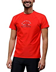 iQ-Company UV 300 - Camiseta Loose Fit, protección UV