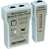 VOLTCRAFT ct-2Diamantprüfer Kabel RJ-11Prüfgerät Tester Kabel BNC und RJ-45