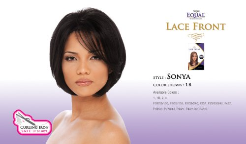 Freetress Equal Perruque en cheveux synthétiques avec bonnet de type front lace Sonya