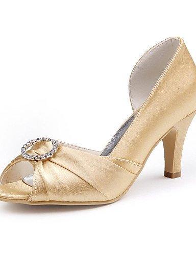 ShangYi Damen - Hochzeitsschuhe - Absätze - High Heels - Hochzeit -Schwarz / Blau / Rosa / Lila / Rot / Elfenbein / Weiß / Silber / Gold / Black