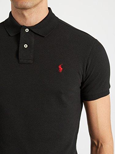 chemises-a-manches-courtes-polo-ralph-lauren-black-s