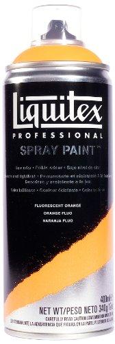 Liquitex Professional - Acrílico en spray, 400ml, naranja fluorescente