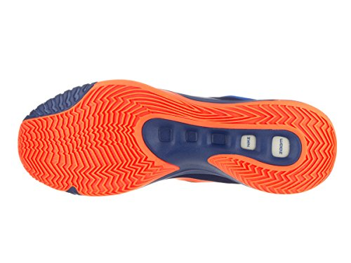 Nike Zoom Hyperquickness 2015, espadrilles de basket-ball homme Bleu / Orange (Insignia Blue / Bright Citrus-Sr)