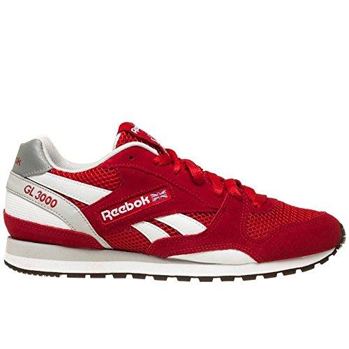 reebok-gl-3000-mesh-zapatillas-de-running-hombre-rojo-gris-blanco-negro-42