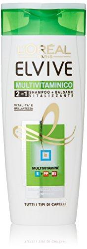 L'Oreal - Paris Shampoo + Balsamo Vitalizzante, 2 in 1 - 250 ml