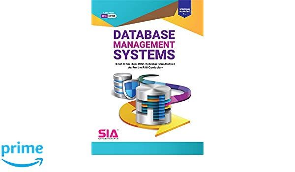 Amazon in: Buy Database Management Systems (Open Elective-I