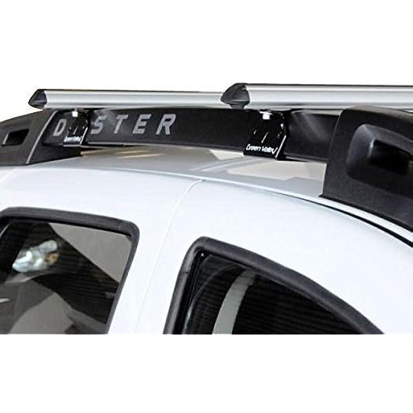 Alu Relingträger Aurilis Original Kompatibel Mit Dacia Duster Mit Reling 5 Türer 01 2014 12 2017 Auto