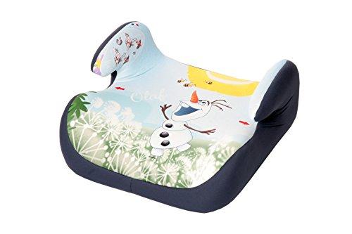 Osann Kinderautositz Autositzerhöhung Booster Topo Luxe Disney Frozen Olaf hellblau, 15 bis 36 kg, ECE Gruppe 2 / 3, von ca. 3 bis 12 Jahre, mit integrierter Gurtführung