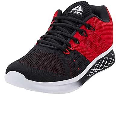 Lancer Men's Black Red Sports Running Shoes Rocker-2-40
