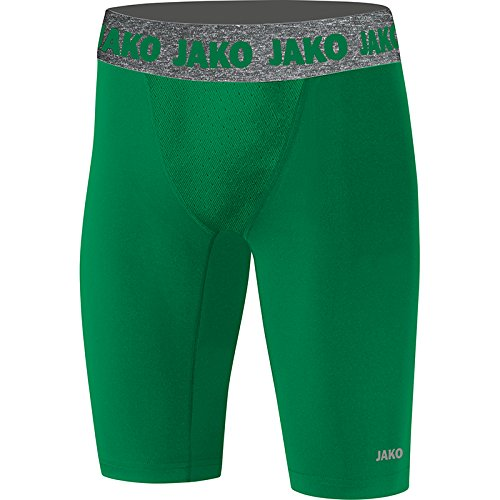 JAKO Herren Short Tight Compression 2.0, sportgrün, XL