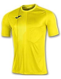 KiarenzaFD Joma Camiseta Tiger M/C Amarillo Fútbol Fashion Camiseta para Hombre, 100945_900_6XS-