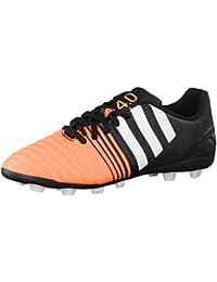 timeless design bb585 0140e adidas Performance, Scarpe da Calcio Bambini Nero Arancio 10K UK - 28 EU
