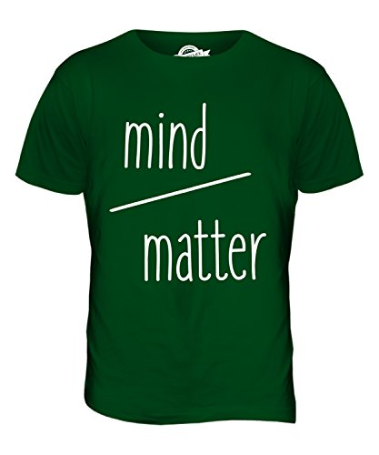 CandyMix Mind Over Matter Willenssache Herren T Shirt Flaschengrün