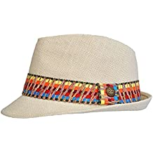 Amazon.it  cappello di paglia uomo - Beige c3e496b4b962