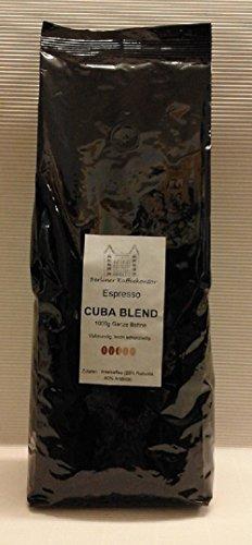 Berliner Kaffeekontor Espresso No. 4 Cuba Blend - 1000g Bohne