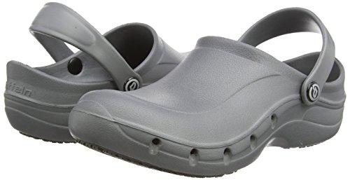 Toffeln Eziklog Unisex-Erwachsene Sicherheitsschuhe, Pink, 37 EU / 4 UK Grau (Graphite Grey)