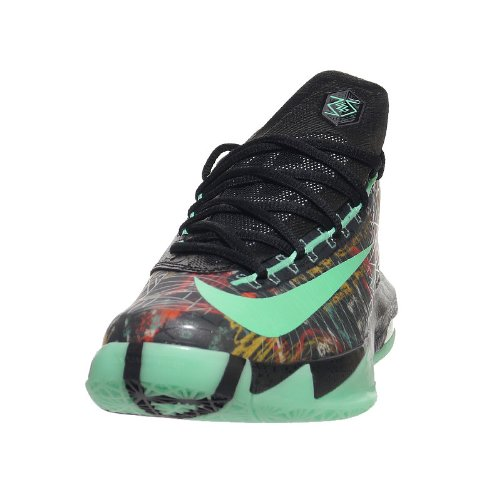 Nike - Basket De Basket-Ball KD VI - AS NOLA Gumbo All Édition All Star Game Illusion Homme 647781 930 Kevin Durant - multi colour green glow black
