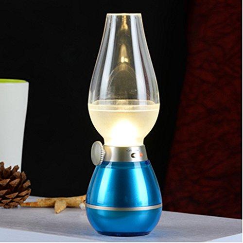 Buckdirect Worldwide Ltd. Commande LED bougie lampe de chevet lampe USB rechargeable LED LED Accueil et utilisation à l'extérieur