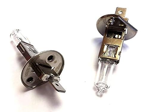 XtremeAuto® 12V Head Light Fulll Beam Bulbs 58mm - 448 x 2 Pack - 1 Prong