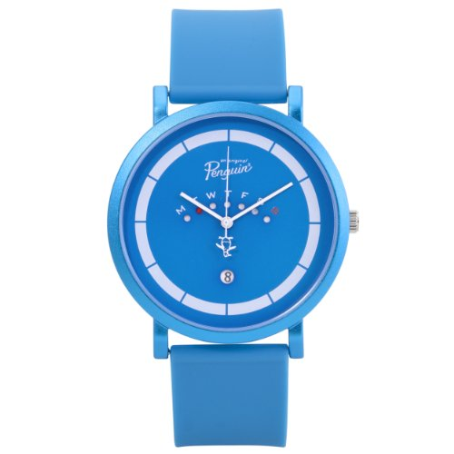 original-penguin-mens-quartz-watch-with-blue-dial-analogue-display-and-blue-silicone-strap-op2028bl