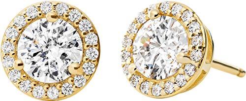 Michael Kors Damen-Ohrstecker 925er Silber One Size Gold 32010070