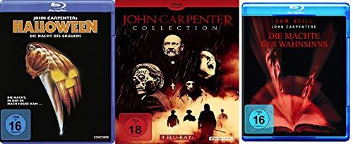6er John Carpenter Collection - Die besten Horrorfilme - Halloween + The Fog Nebel des Grauens + Fürsten der Dunkelheit + Sie leben + Vampire + Mächte des Wahnsinns
