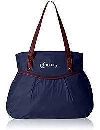 fantosy Leisure Women's Handbag (Blue, FNB-092)