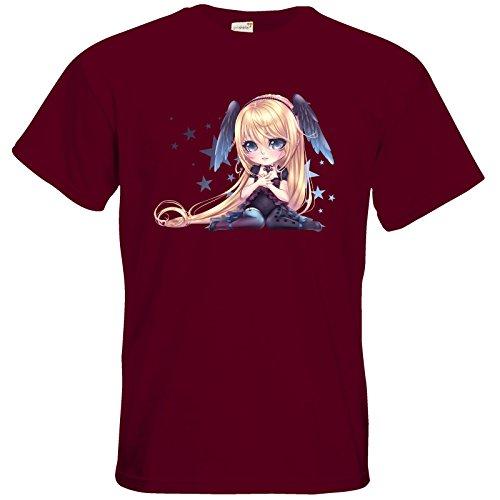 getshirts - Lukiyas Shop - T-Shirt - Motiv 5 Burgundy