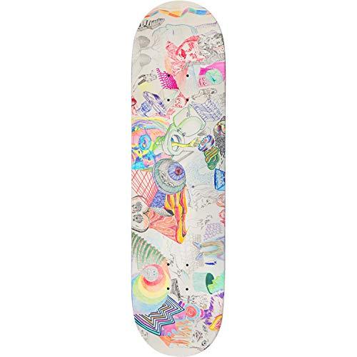 Baker Rowan Continuum Skateboard, 21,6 cm, nur Deck (gebündelt mit 2,5 cm Hardware Set)
