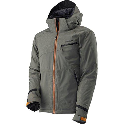 Head Herren 821345-STON Skijacke ACE Jacket stone