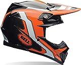 Bell Helme MX 2017moto-9Flex Erwachsene Helm, Factory orange/schwarz, Gr. XL