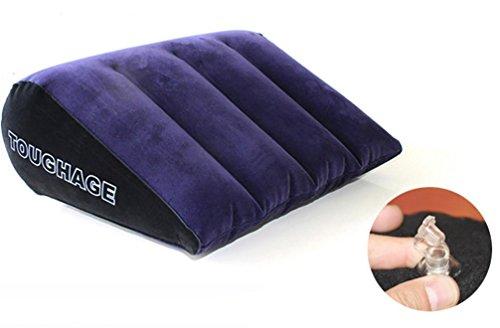 eieck Spaß Kissen PVC Aufblasbares Beflockung Kissen Sex Magie Kissen Erwachsene Sex Spielzeug möbel Erotische Erwachsene Produkte (Spaß Für Paare)