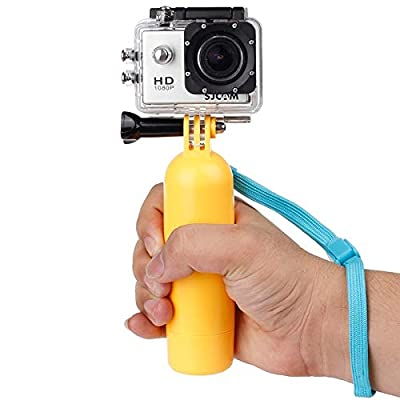 Liuzheng For Waterproof camera Flat-Bottomed Solid Color Bobber Floating Hand Grip Buoyancy Rods for Xiaomi Sport Camera