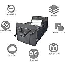 Home Premium para Maletero de Coche Organizador con aislamiento frío armario   plegable tronco contenedor de carga para coche, SUV, camión, camioneta -- impermeable plegable gran capacidad Fuerte y Durable