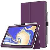 MoKo Cover per Samsung Galaxy Tab S4 10.5', Custodia Pieghevole, a Piedi Supporto, con Funzione Auto Sveglia/Sonno, con Anello per Penna, per Samsung Galaxy Tab S4 10.5' - Viola