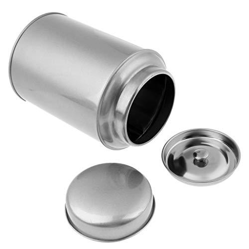 perfk Versiegelte Kaffeedose Teedose Aufbewahrungsdosen Küche Zuckerdose - Silber S