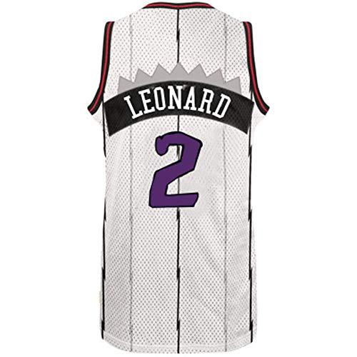 PXYUAN # 2 Kawhi Leonard Herren-Basketball Jersey, 2019 Finals Meister FMVP Spieler, Toronto Raptors, Gute Qualität läuft große Short Sleeve Offiziell lizenzierte Team-XS-XXL-2-M -