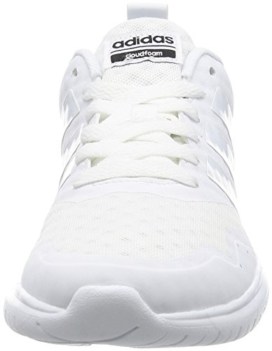 Adidas Cloudfoam Lite Flex W- Scarpe Sport Per Donna, Donna, Cloudfoam Lite Flex W, Nero, 36 Eu Avorio (ftwbla / Ftwbla / Negbas)