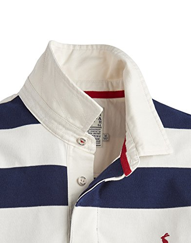Tom Joule Herren Langarmshirt Onside Navy Cream stripe