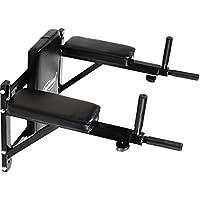Physionics - Estación de entrenamiento - dips – para músculos abdominales y espalda - soporta hasta 100 kg