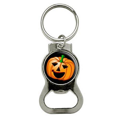 Grafiken und mehr Halloween-Kürbislaterne–Kürbis–Halloween Flasche GAP Opener Schlüsselanhänger (kb0580)