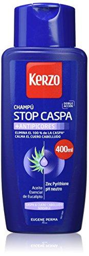 Kerzo 1095-50743 Frecuencia Anti Caida Nutritivo Seco Shampoo Pack 2 Units 800 ml