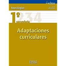 Tecnologías 1º ESO Motriz Adaptaciones Curriculares (Cuadernos Oxford) - 9788467367386
