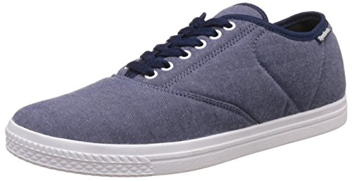 Reebok Classics Men's Classic Tenstall Blue, Lilac, Pink, Black and Pewter Sneakers - 9 UK/India (43 EU)(10 US)